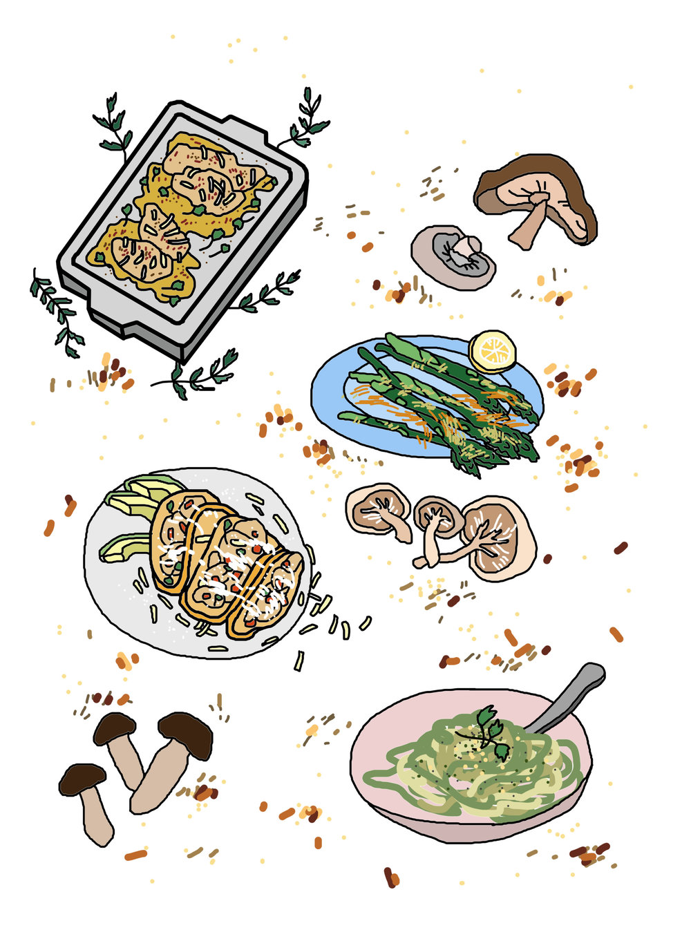 A College Student's Guide to Meal Prepping — ORANGE Magazine.