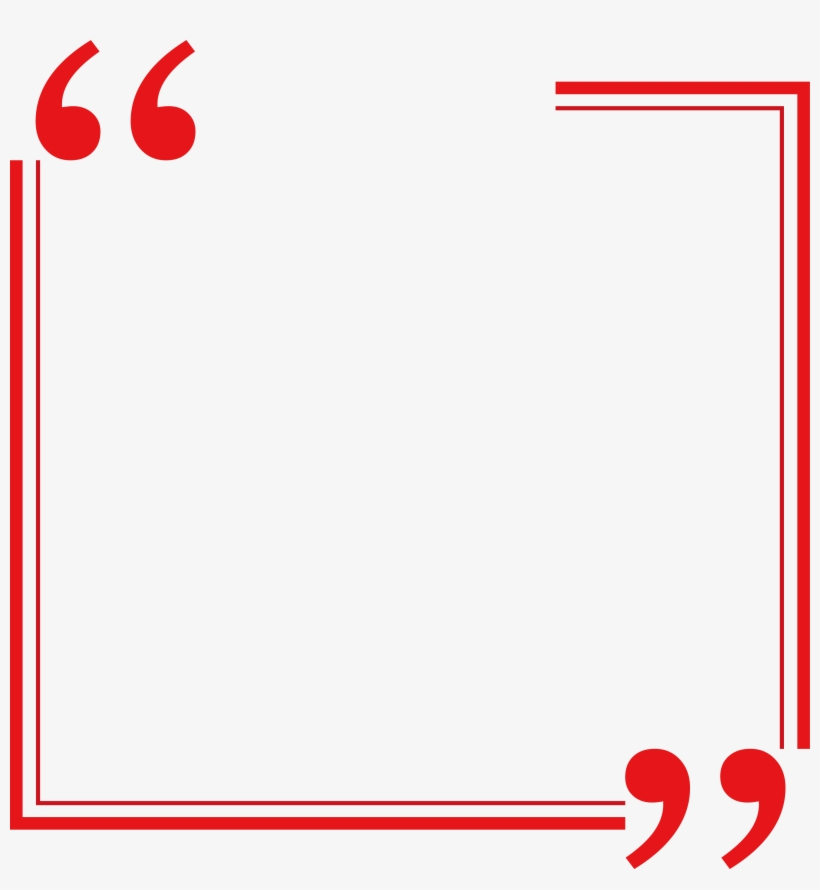 Red Rectangle Border.