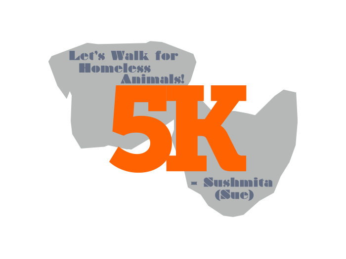 Let's Walk for Homeless Animals.