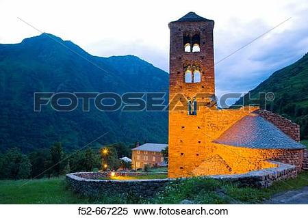 Stock Image of France. Pyrenees Mountains. Aspe Valley. M?rens.