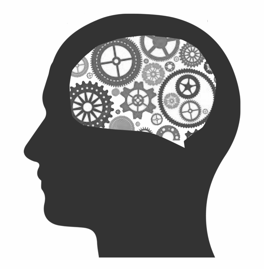 Brain Clipart Cognitive Cognitive Black And White.