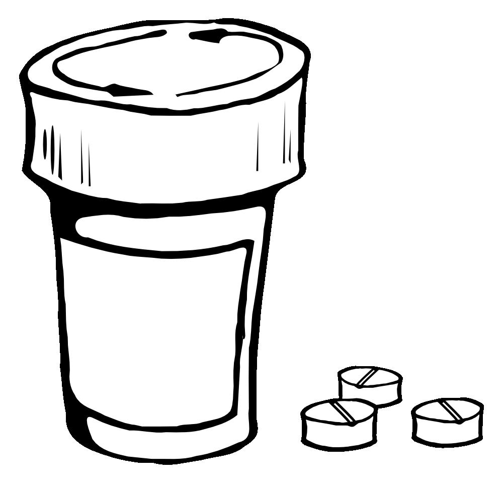 Aspirin Clipart.