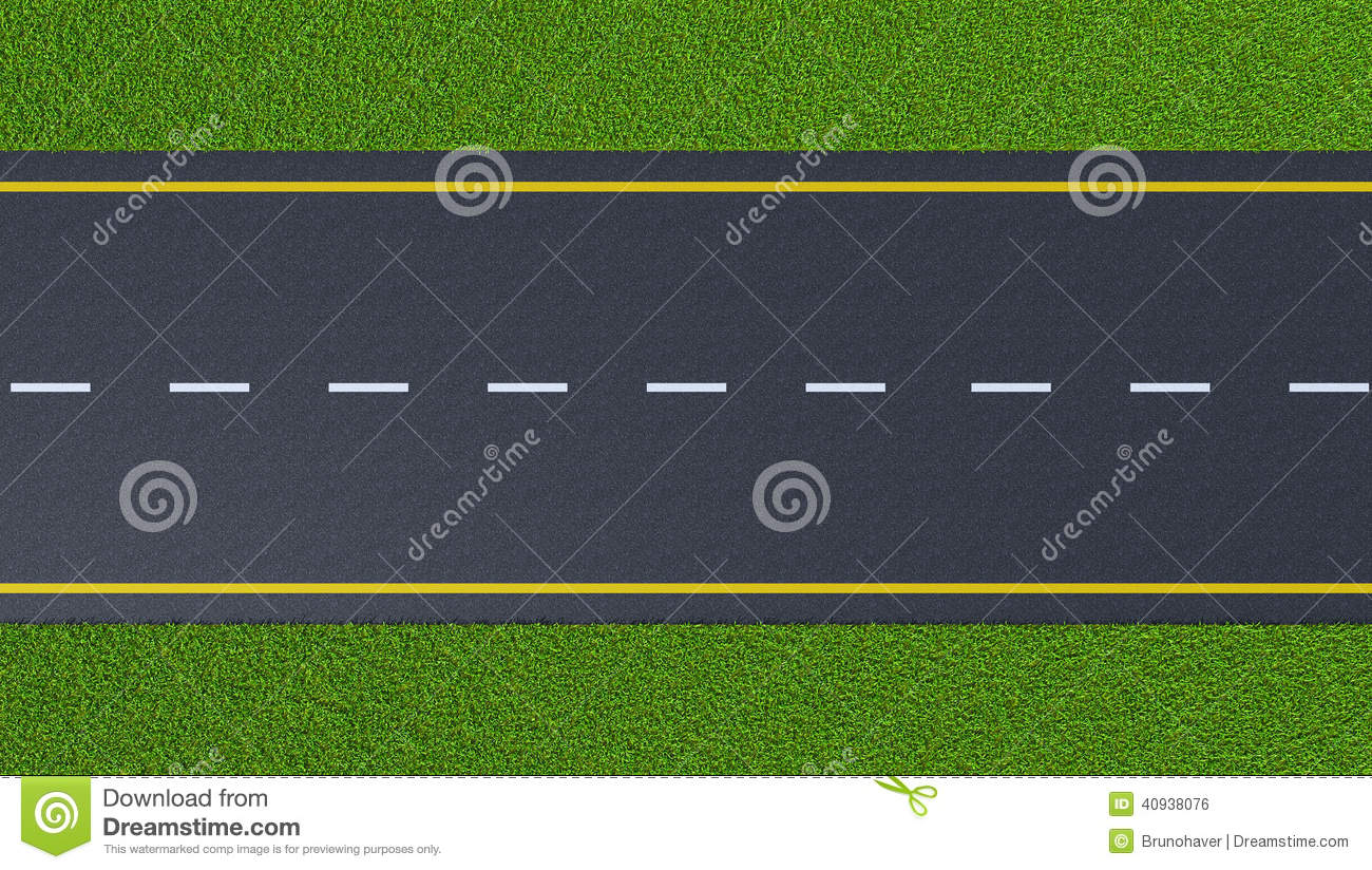 Road clipart top view.