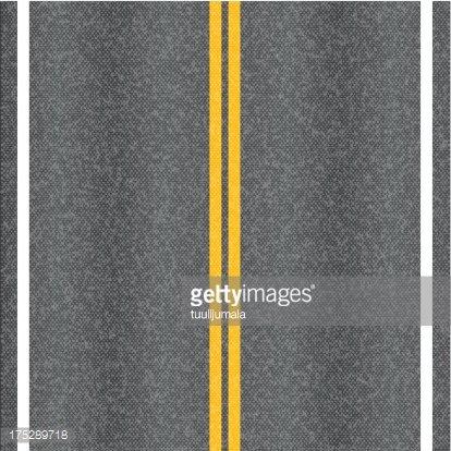 Asphalt road Clipart Image.