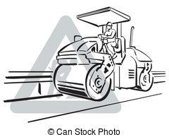 Asphalt paver Vector Clipart Illustrations. 164 Asphalt.