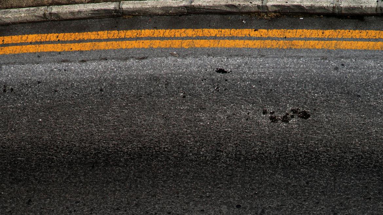 Black,Asphalt,Road surface,Line,Soil,Sky,Tar,Road,Concrete,Rock,Sand.