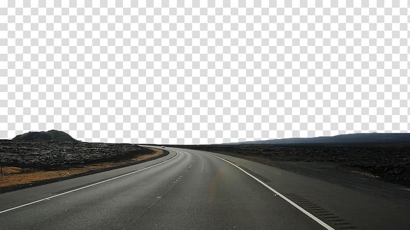 Time lapse of asphalt road at daytime, Highway Asphalt Road.