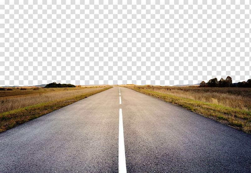 Cement road transparent background PNG clipart.