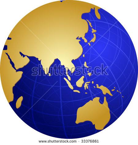 Gold Globe Clipart Stock Photos, Royalty.