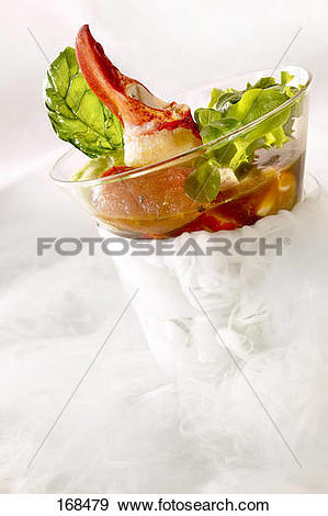 Stock Photograph of Lobster in aspic 168479.