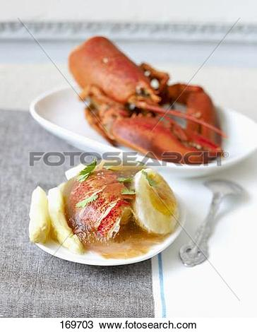 Stock Photo of Lobster and hard.