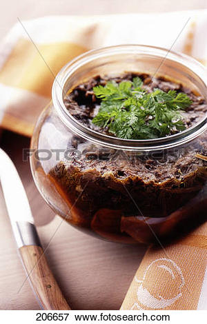 Picture of Jar of oxtail in aspic 206657.