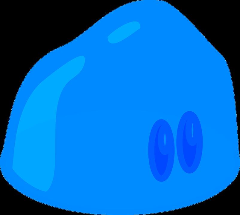 Free vector graphic: Slime, Jelly, Aspic, Jello, Blue.