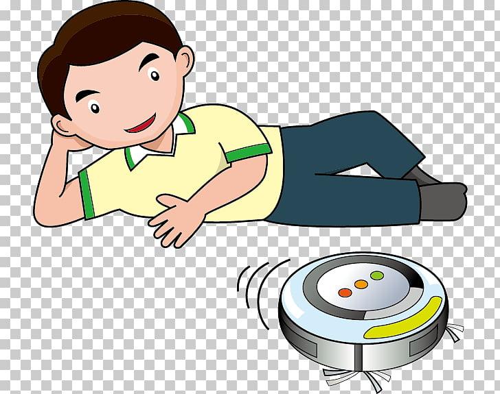 Aspiradora robótica, vida limpia PNG Clipart.
