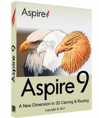 VECTRIC ASPIRE 9 + Bonus Clipart.