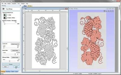 VECTRIC ASPIRE 9.015 Emboss design software+Bonus Clipart.