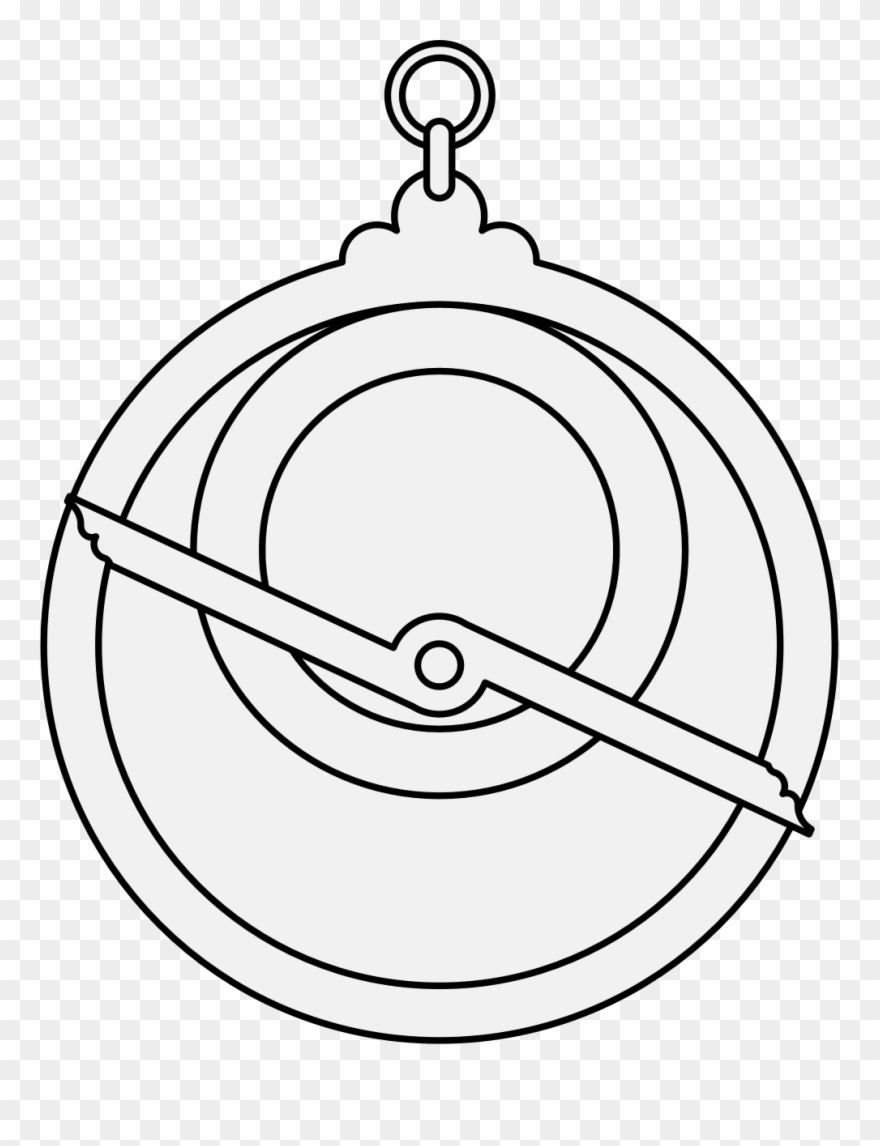Free Astrolabe Drawing Old.