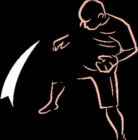 Mixed Martial Arts Clipart Assailant.