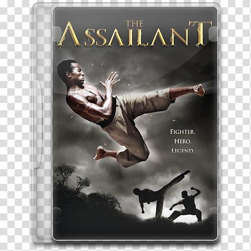 Movie Icon Mega , The Assailant, The Assailant CD case.