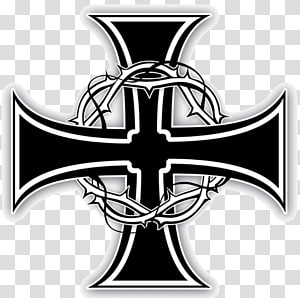 Templar Cross transparent background PNG cliparts free.