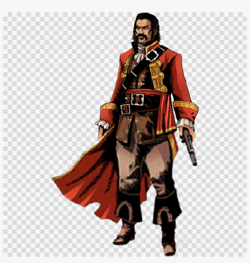 Download Pirate Png Clipart Samuel Bellamy Assassin's.