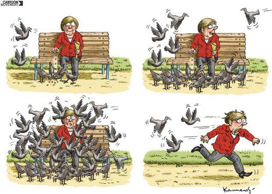 Assassination Attempt on Angela Merkel???.