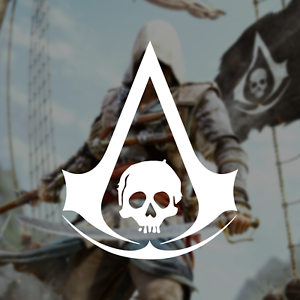 Details about Assassin\'s Creed IV: Black Flag Logo / Vinyl Decal Sticker.