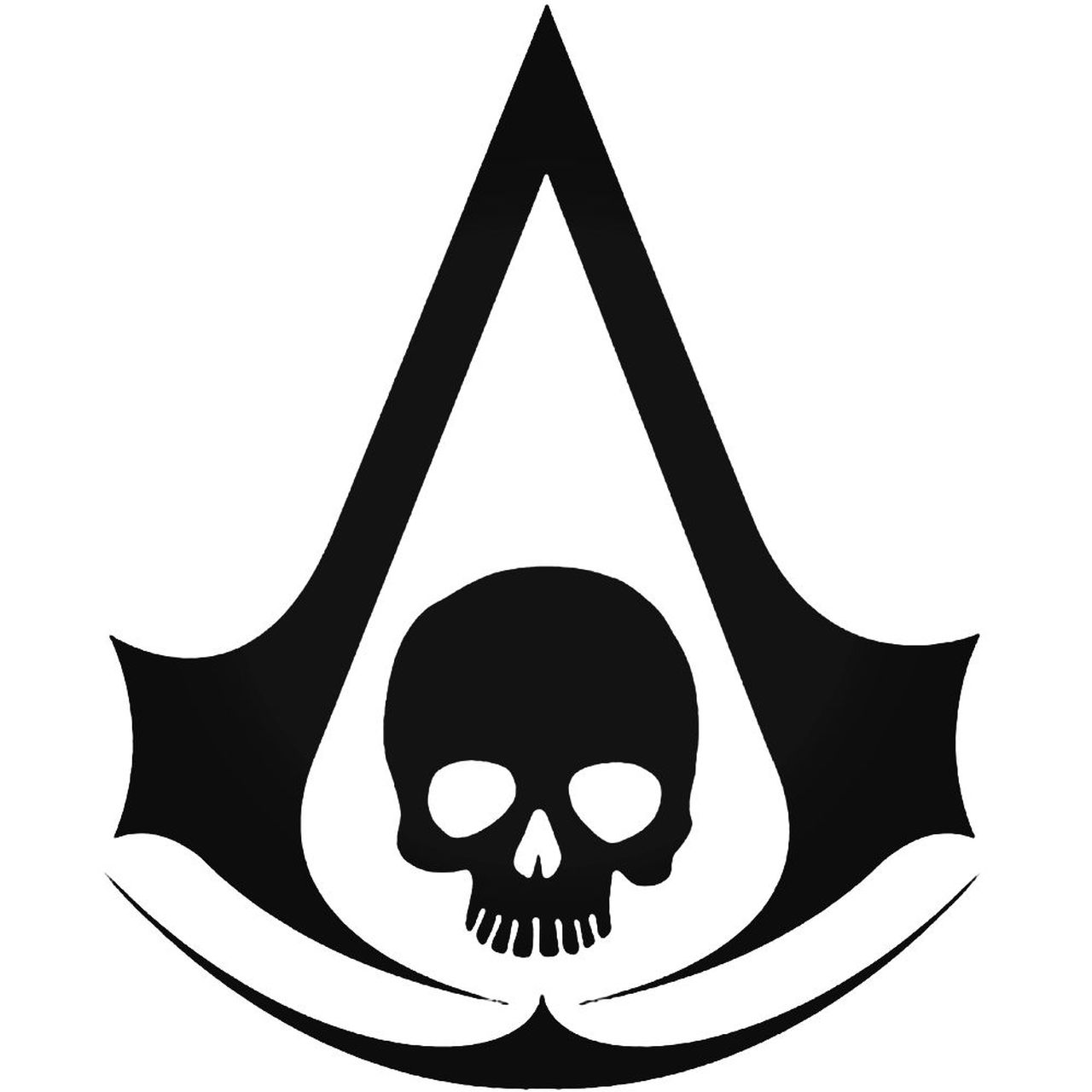 Assassins Creed Black Flag 600 Sticker.