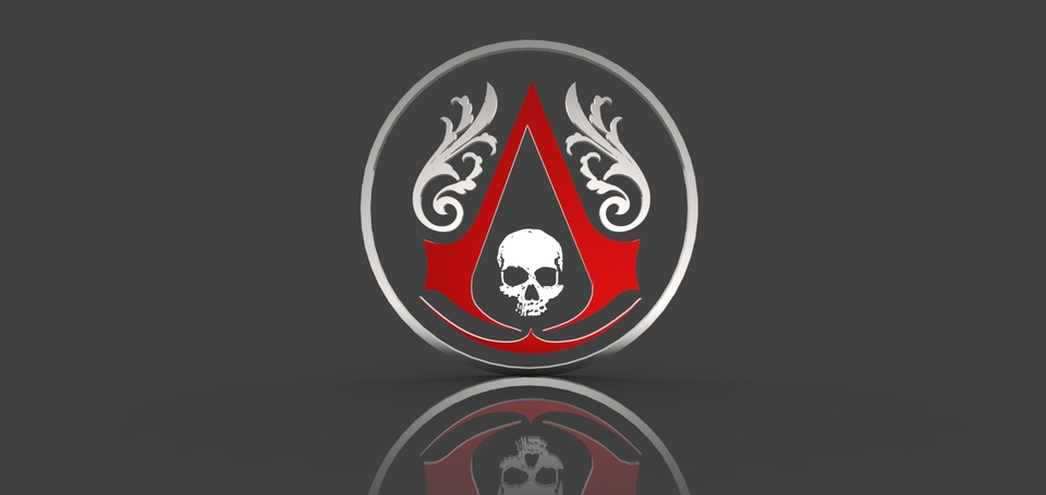 Assassin\'s Creed Black Flag logo.