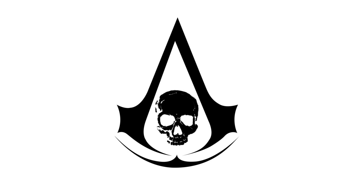 Assassin\'s Creed IV Black Flag Logo by zepphhiro.