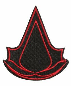 Details about ASSASSIN\'S CREED LOGO EMBROIDERED SEWN/IRON ON Premium Patch  3.5\