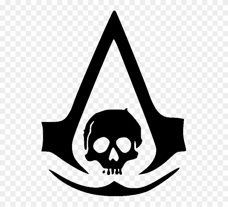 Logo Assassins Creed Black Flag.