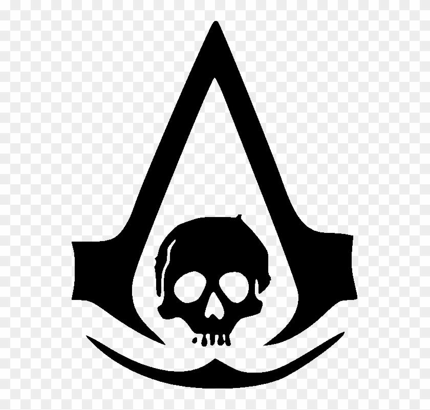Logo Assassins Creed Black Flag , Png Download.