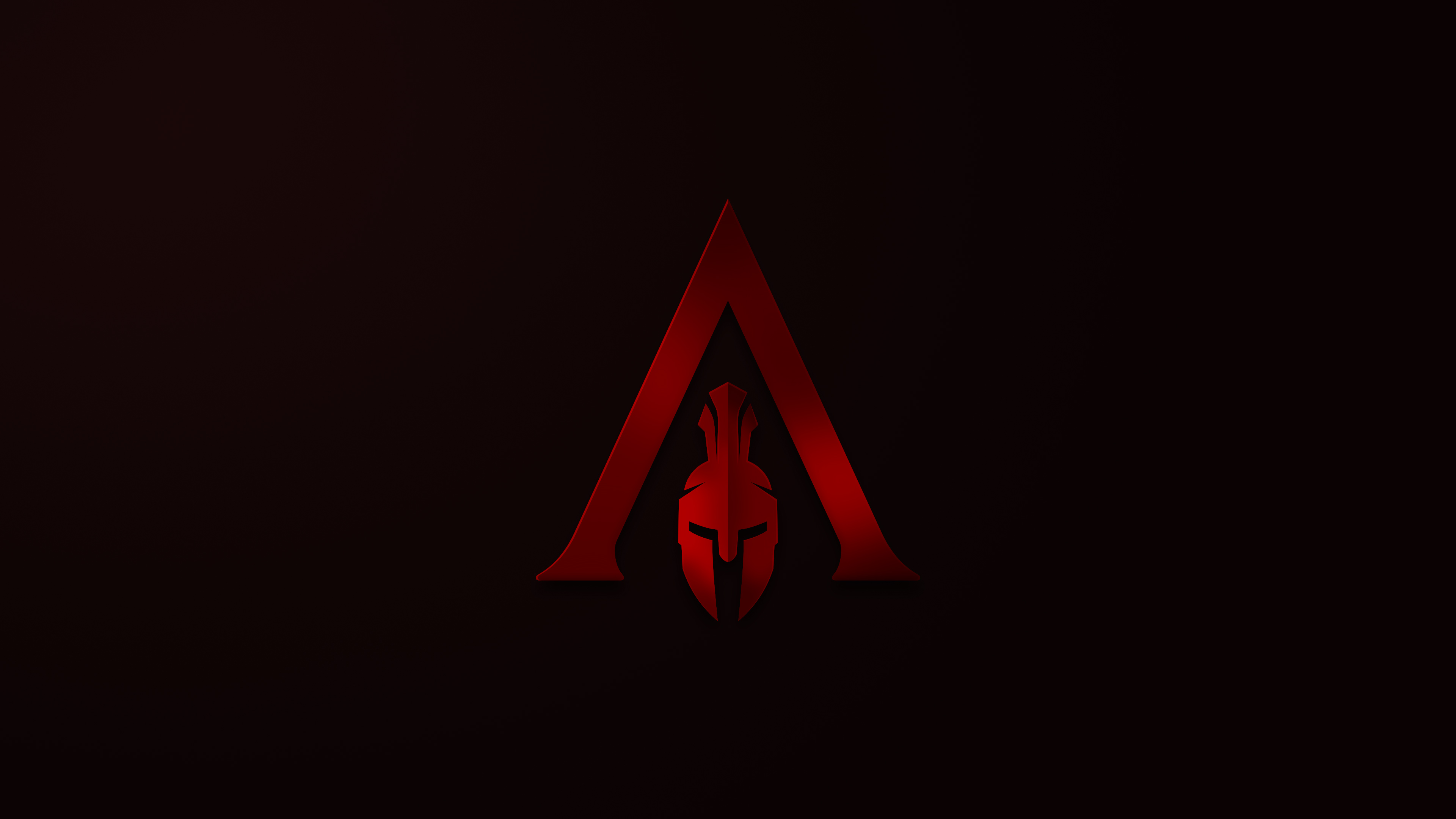 Assassins Creed Odyssey Minimalism Logo 4k, HD Games, 4k.