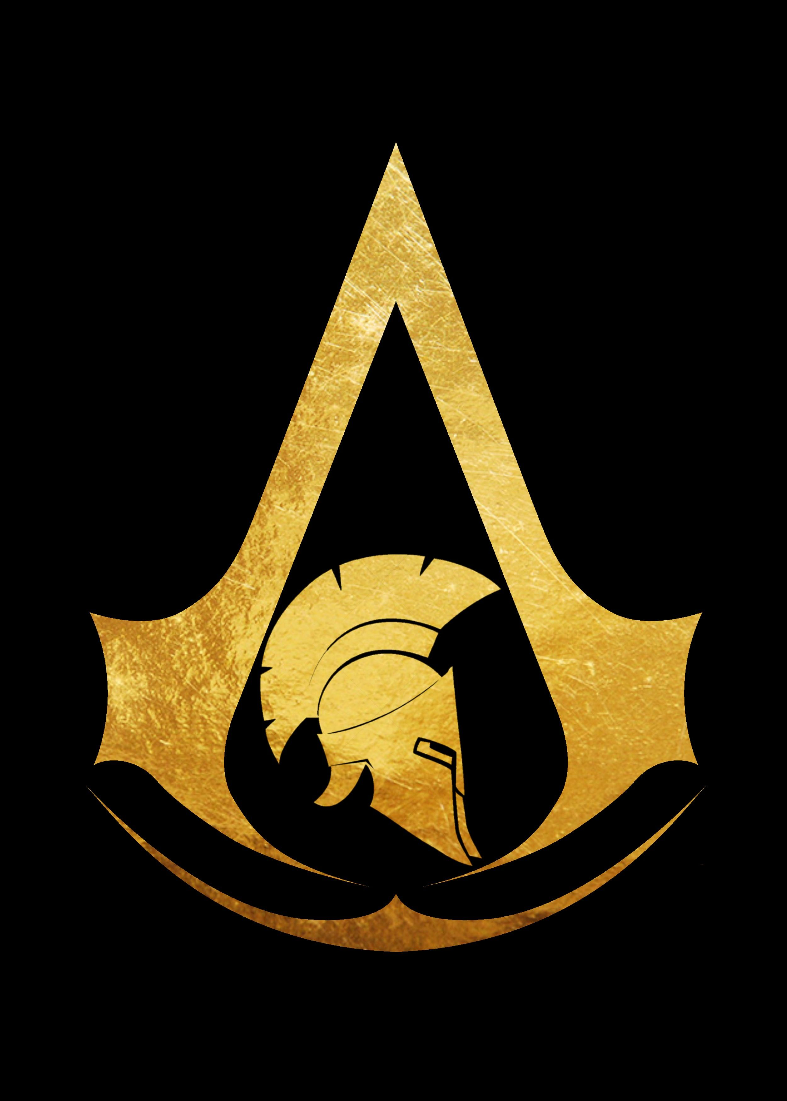 AC Odyssey black background.