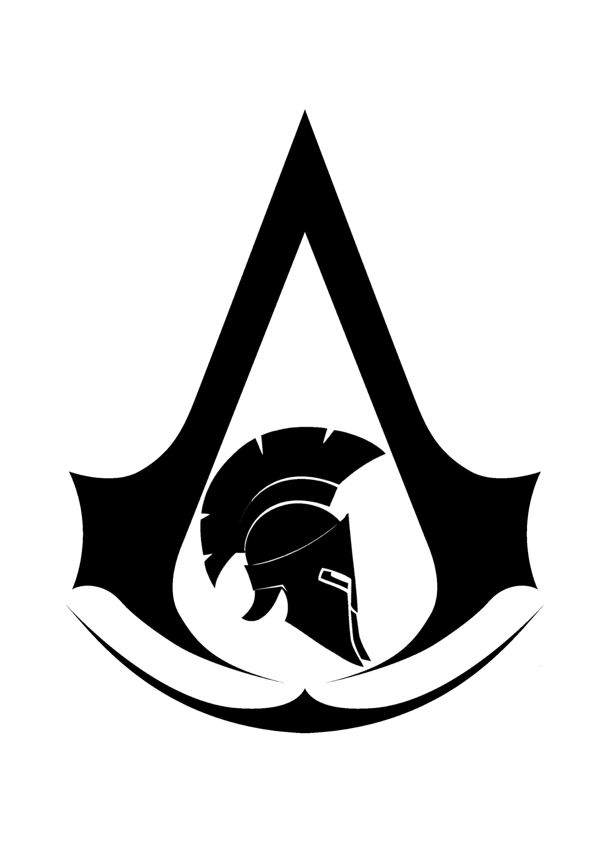 AC Odyssey black logo.