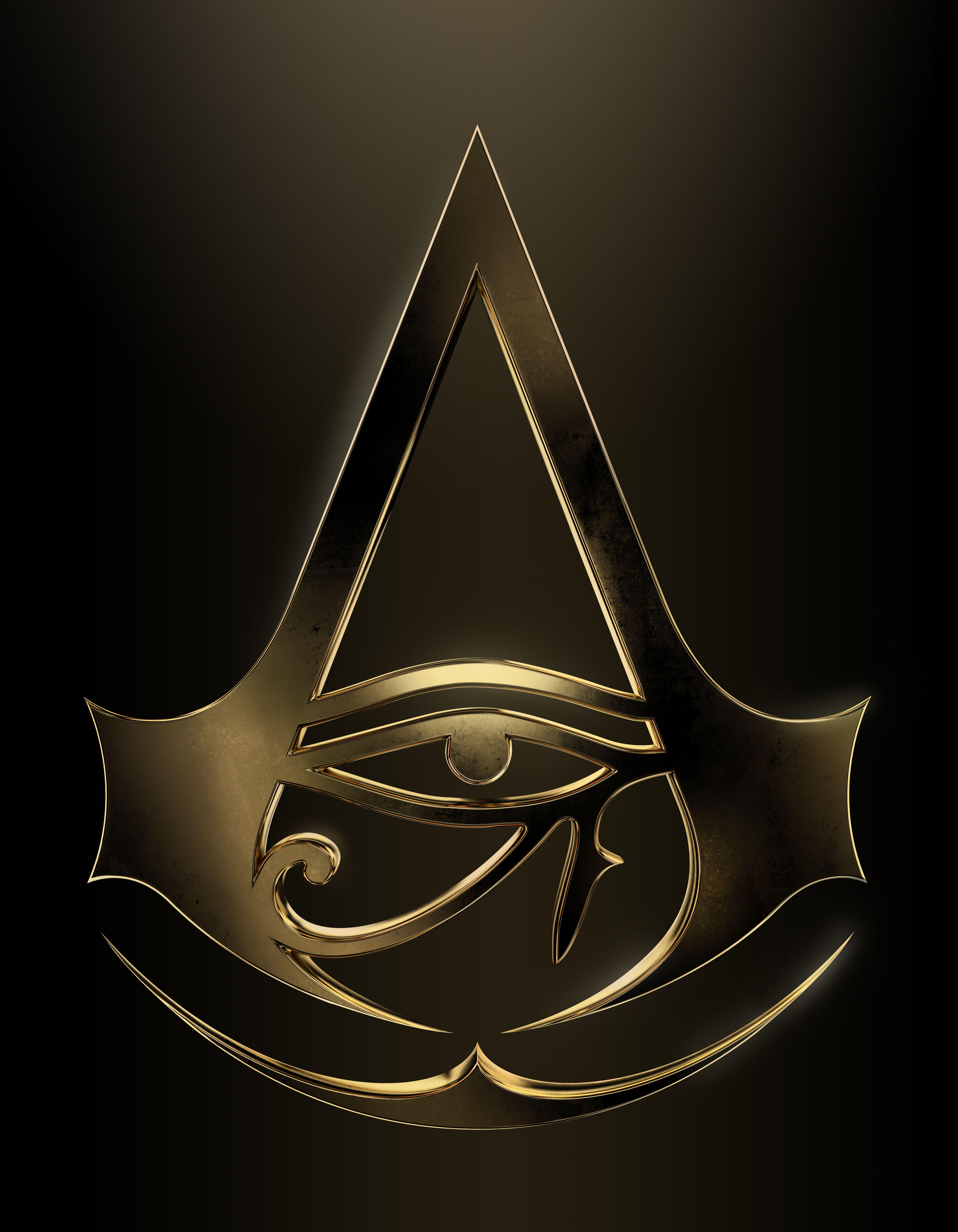 AC Origins gold logo.