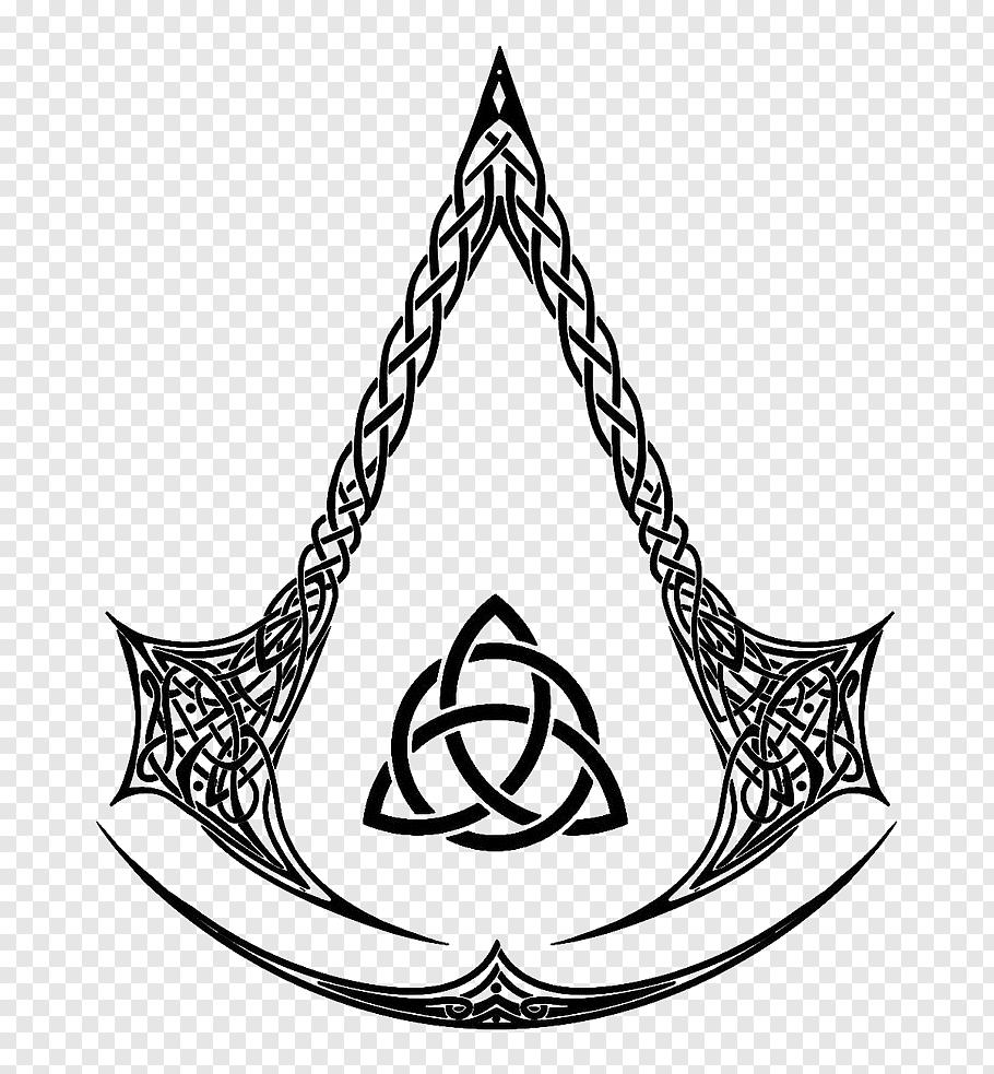 Assassin Creed logo, Assassin\'s Creed IV: Black Flag.