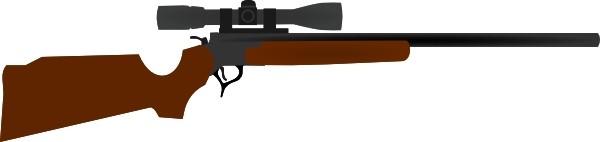 Assault rifle clip art.