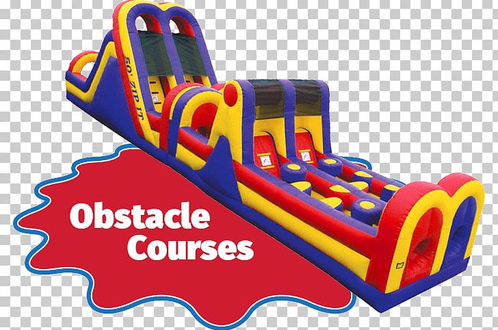 Inflatable Bouncers Obstacle Course Water Slide PNG, Clipart, Area.