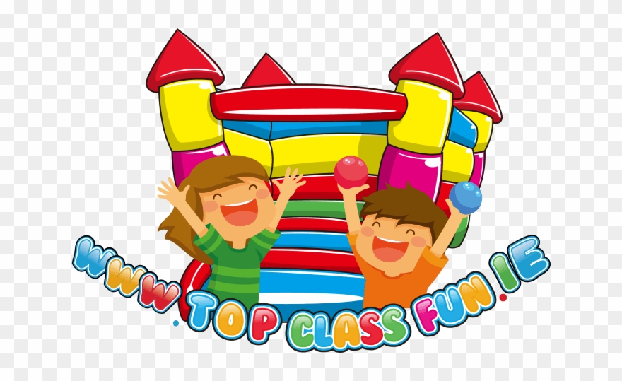 Bouncy Castle Photobooth Obstacle Course Disco Domes Clipart (#50734.