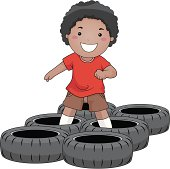 Free Obstacle Course Clipart and Vector Graphics.