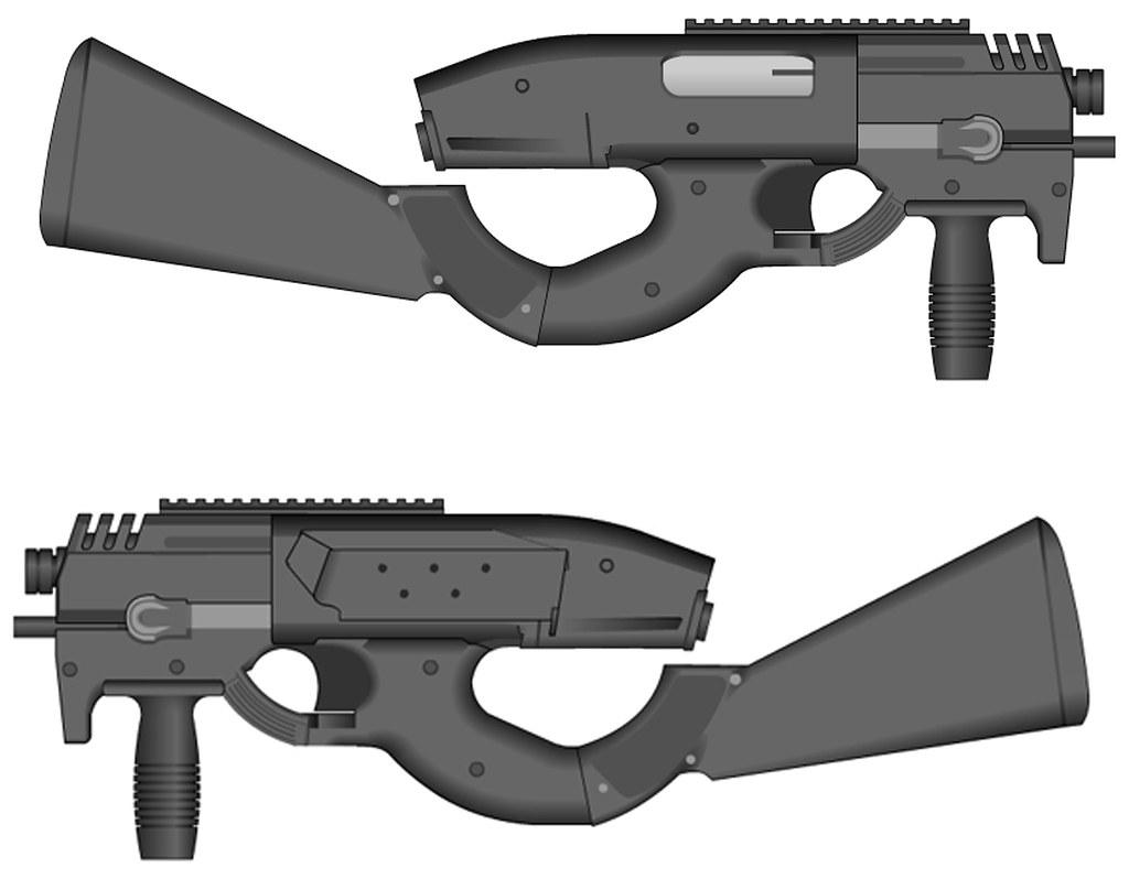 ST/ Skarab Gun.