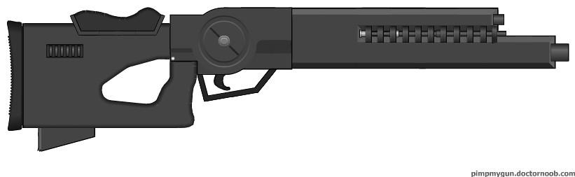 The Juggernaut Rifle WIP part 2.