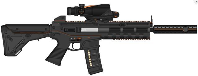 L82A3 Particle Rifle.