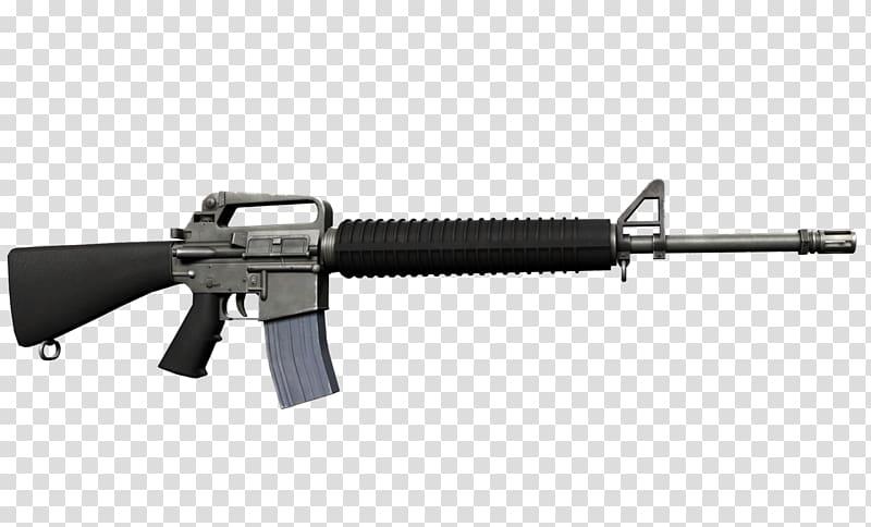M4 carbine Assault rifle M16 rifle M16A2, m transparent.