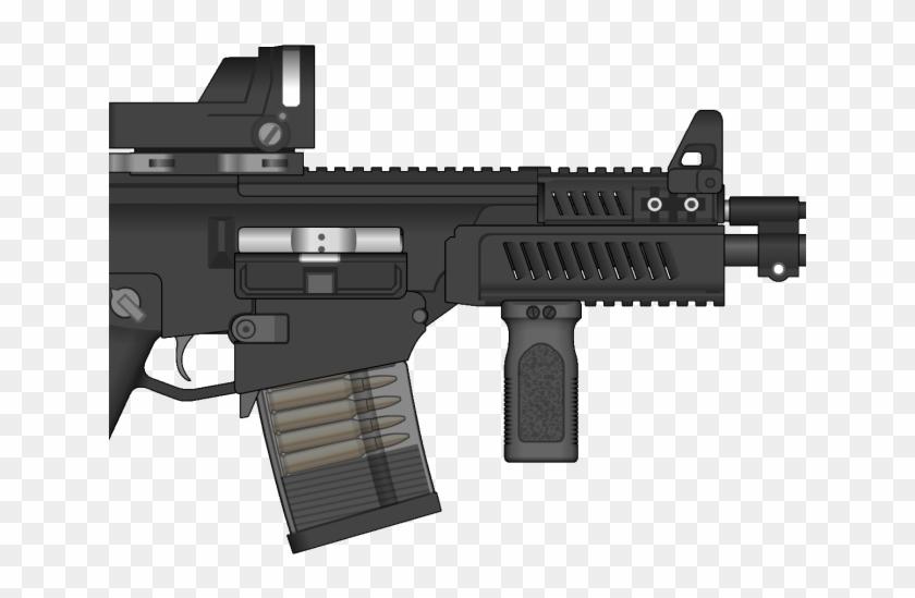 Assault Rifle Clipart M4a1.