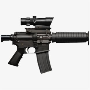 Assault Rifle , Transparent Cartoon, Free Cliparts.