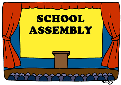 School assembly clipart free.