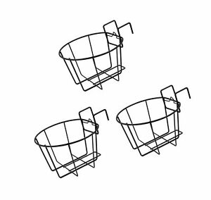 Details about ESYLIFE Over the Fence Planters Assemble Flower Pot Hangers  Fits up to 9.5 Inch.